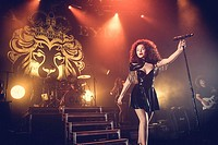 Ella Eyre performing live on stage at the Roundhouse Featuring: Ella Eyre Where: London, United Kingdom When: 11 Mar 2015 Credit: Carsten Windhorst/WE...