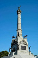 Soldiers and Sailors Monument Iowa