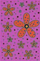 Orange and purple Retro