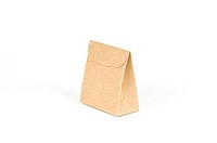 paper bags isolated on white with clipping path