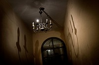 Chandelier in a room