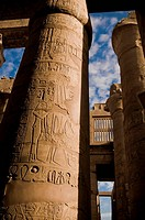 Great Hypostyle Hall at Karnak Temple, Egypt circa 1200 BC