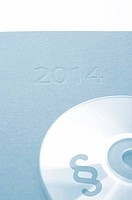 CD with a paragraph icon