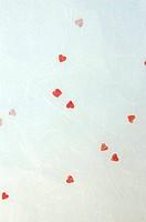 Handmade Valentine Paper Background