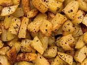 herb baked potato
