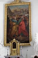 Peter and Paul basilica, Vilnius, Lithuania