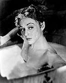 Paulette Goddard, Close-Up Portrait, on-set of the Film Unconquered, 1947