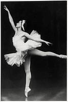 Galina Ulanova, Russian Ballet Dancer, Portrait, circa 1940's