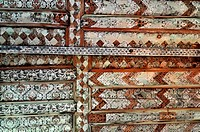 Detail of Wooden Ceiling