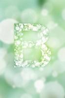 bogeh english alphabet background