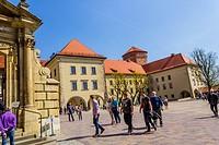 Royal Wawel Castle in Krakow, Poland, Europe.