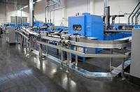 Print shop - Finishing line