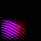 Abstract background colorful lights on black, vector.