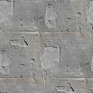 seamless texture square of old stone wall with a crack background