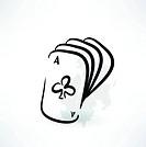 poker grunge icon