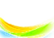 Bright colorful shiny waves design
