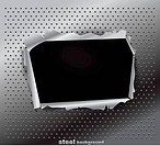 Damaged steel texture