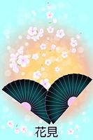 Japanese Background - Stock Illustration