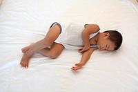 Sleeping Japanese boy (1 year old)