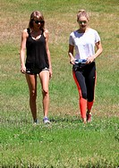 Taylor Swift and Gigi Hadid go for a hike together on Mothers Day in Franklin Canyon Park. Featuring: Taylor Swift, Gigi Hadid Where: Los Angeles, Cal...