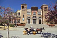Museum of Arts and Traditions, Maria Luisa Park, Seville, Spain