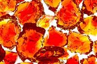 Marble Red Crackle Broken