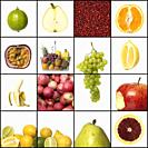 Collage of fruit