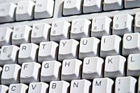 White Desktop Computer Keyboard