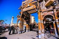 El Souk market, Luxor, Egypt, North Africa, Africa