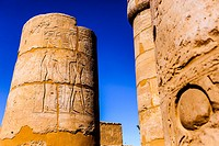 Columns at Temple of Luxor, Luxor city, Egypt
