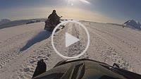 Camera on Skidoo motorhood