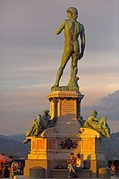 Tuscany. Florence. At the Piazzale Michelangelo