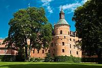 """Castillo de Gripsholm en Mariefred, ciudad sueca del municipio de Strangnas a orillas del lago Malaren â. """" Provincia de Sodermanland â. """" Suecia â. """"..."""