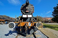 Train Museum at Camlik / Selcuk, Western Anatolia, Turkey.