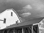 Railroad barn in Arvada, Colorado.