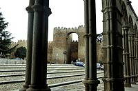 The Walls. Avila, Spain