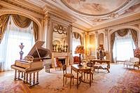Music Room inside the d Henry Flagler Museum, Henry Flagler, one of the founders of Standard Oil.