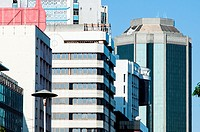 Buildings in Samora Machel Avenue, CBD, Harare, Zimbabwe