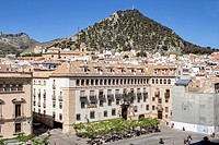 The episcopal head office of Jaen, The Episcopal Palace is constructed on a building of the XVth century reformed in the year 1980, take in Jaen, Spai...
