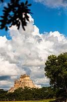 Archeological site Uxmal, Yucatán, México.