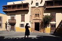Casa de Colon, Vegueta quarter, Las Palmas de Gran Canaria town, Gran Canaria island, Canary archipelago, Spain, Europe.