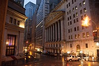 As Hurricane Sandy started to barrel into New York, the financial center of the world got ready.