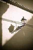 Wall detail in Granada, Andalusia, Spain.