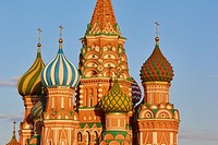 St Basil's Cathedral (Cathedral of Vasily the Blessed), Red Square, Moscow, Russia