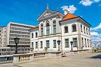 Muzeum Fryderyka Chopina, Frederic Chopin Museum, Palac Gninskich, Ostrogski Palace, Warsaw, Poland.