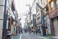 Shimo Kitazawa, hopster neighborhood in Tokyo, Japan