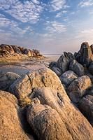 Lekhubu (Kubu) Island. Sowa Pan. Makgadikgadi Pans. Botswana.