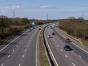 UK, England, Motorway A3 daylight.