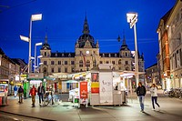 Town Hall, in the Hauptplatz, Graz, Austria.