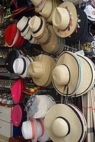 Hat Display at Souvenir Stand, Montmartre, Paris, France.